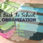 Get Organized for Back to School