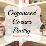 Organized Corner Pantry
