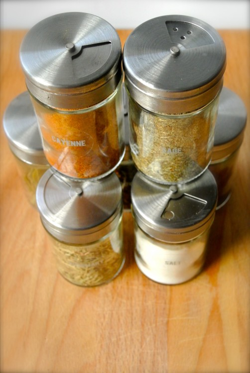 Organized spices