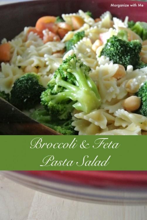 Broccoli & Feta Pasta Salad