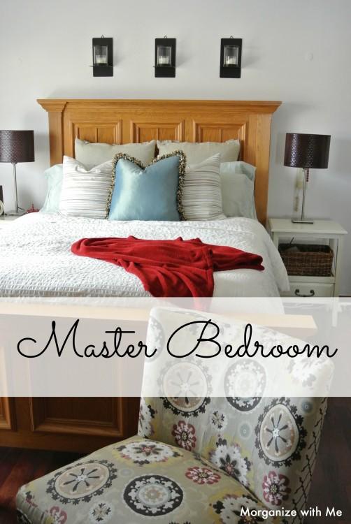 Master Bedroom Organized
