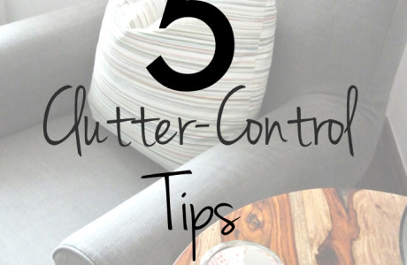 Five Clutter-Control Tips