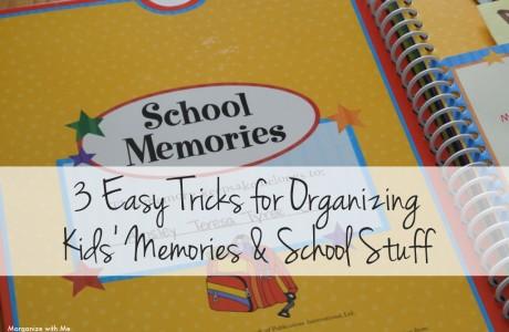Easy Tricks – Organizing Kids' Stuff