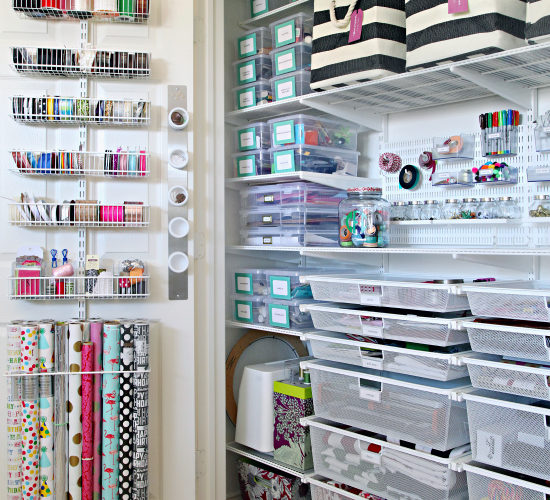Organizing Dilemma – Craft Room